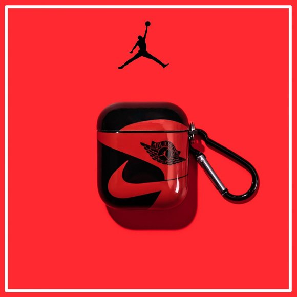 Accessories New Airpods Case Tide Brand Softshell Nike Jordan